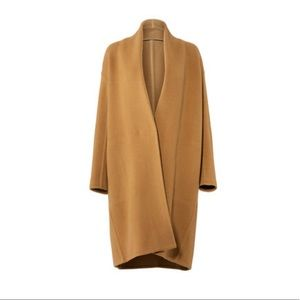 NWT! Vince Camel Cocoon Single Button Coat